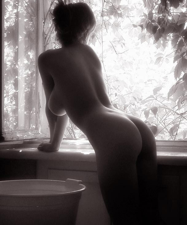 LGBT-Lesbian-Interest-Sexy-Girl-Boobs-Doggy-Style-Before-font-b-Bath-b-font-Window-Original